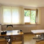 Das Praxiszimmer von Rolf Schaffner Facharzt für Allgemeinmedizin